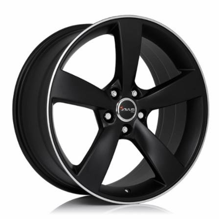 AVUS Racing AF10 7,5x17 5x110 +40 73,1 MATT BLACK POLISHED (A10075175110040731T0)