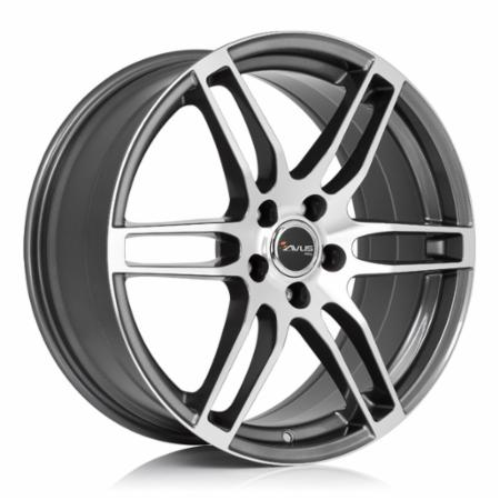 AVUS AF9 6,5x16 5x110 +36 73,1 ANTHRACITE POLISHED (A09065165110036731B0)