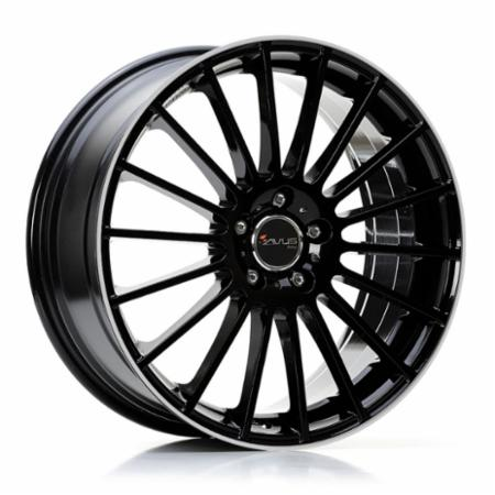 AVUS Racing AC-M03 6,5x16 5x110 +36 73,1 BLACK POLISHED LIP (M030651651100367313W)