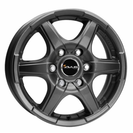 AVUS GRIZZLY 7x17 5x108 +50 73,1 ANTHRACITE (GRI070175108050731A0)