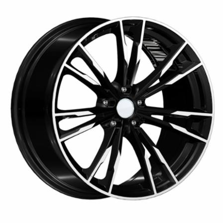 Cerchio in lega MONZA 7,5x17 5 X 120 +34 72,6 BLACK POLISHED